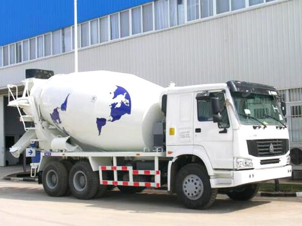 12 m³ concrete mixer truck