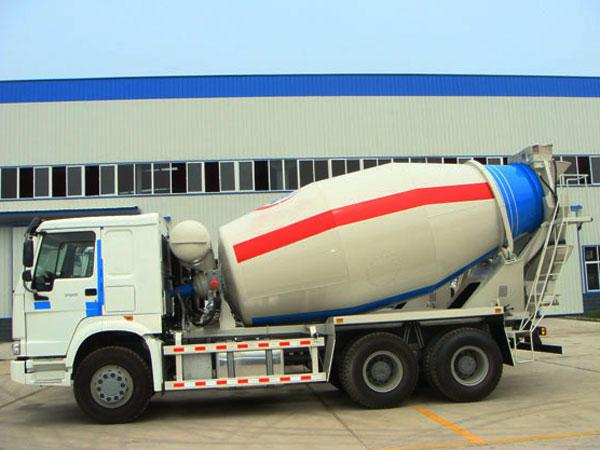 concrete truck mixer capacity