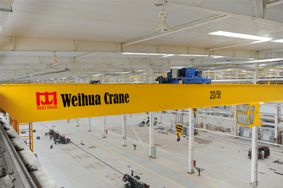 Reliable electric overhead crane