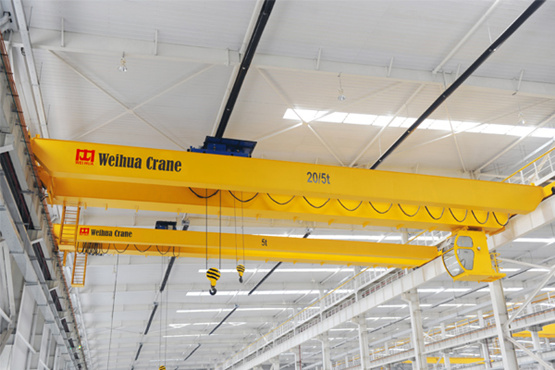 Double girder electric crane for sale