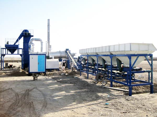 asphalt mix plant
