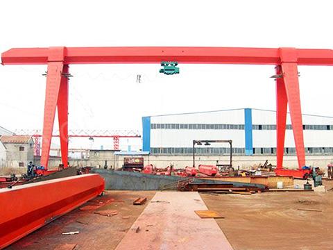 light duty single girder gantry crane sale