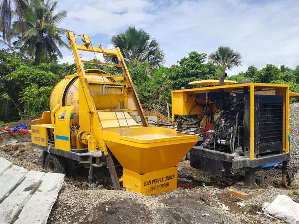 diesel engine portable mixer with pump Philippines