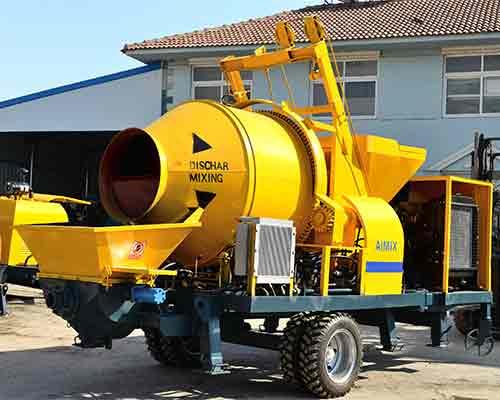 Hot selling concrete pump machine in Sri Lanka