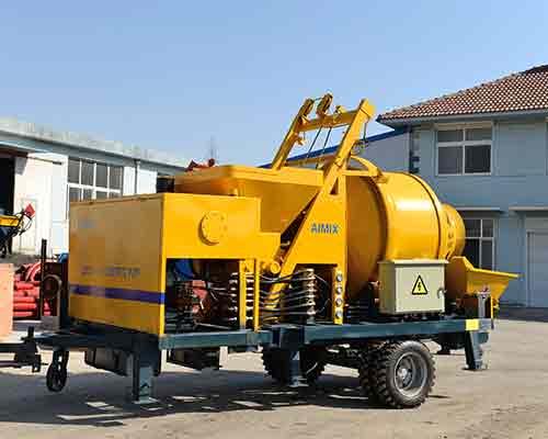 Concrete mixer pump for hot sale in Sri Lanka