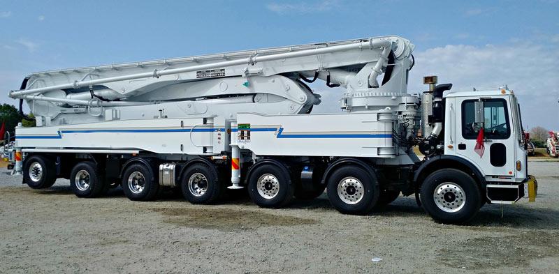 18m Concrete Boom Pump